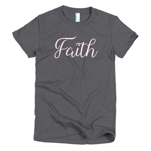 Faith Pale Pink T-shirt - Azzurra Soul
