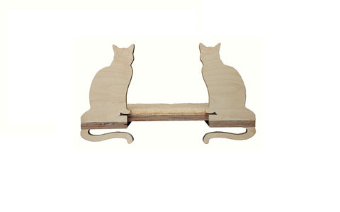 "Cat shelf Ophelia 21""x9"""