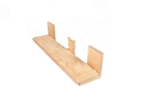 "Cat shelf long & narrow 33""x7"""