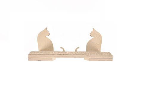 "Cat shelf Lola 19""x9"""