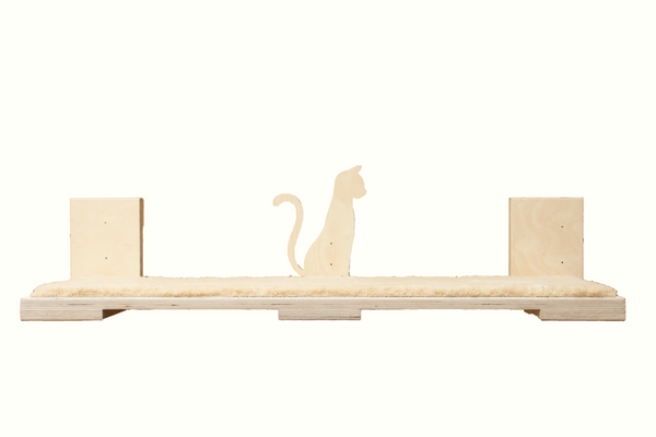 "Cat shelf long 36""x9"""