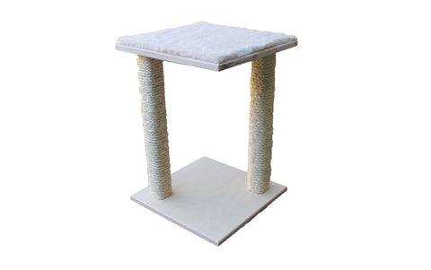 "2-post cat scratcher square 14""x14""x19.5""(H)"