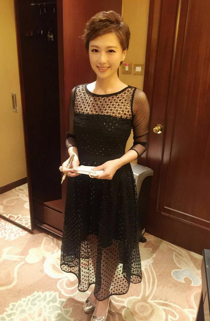 Ruby Lam shone in The Black Diamond Dress