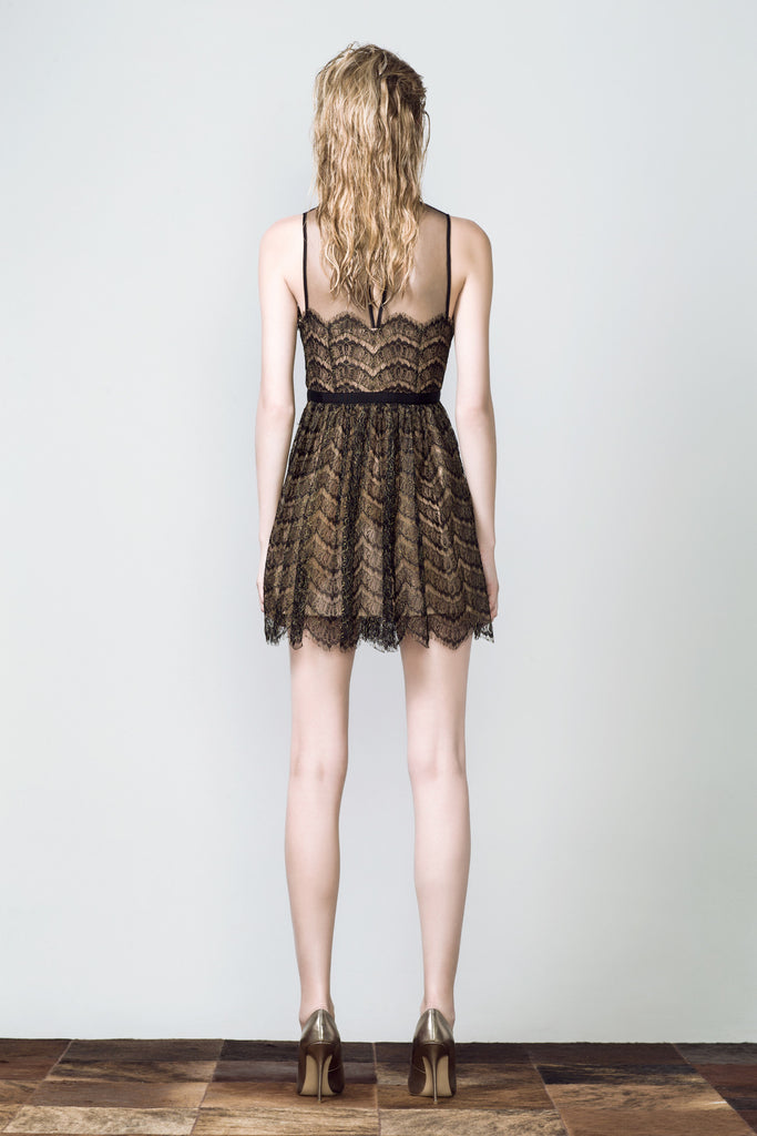 French Lace Cocktail Dress