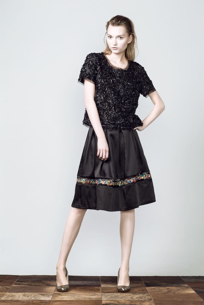 Gem Embellished Skirt
