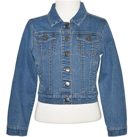 GIRLS' DENIM JACKETS