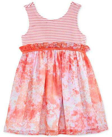 BABY GIRLS'S SWIPE & SWIRL DRESS