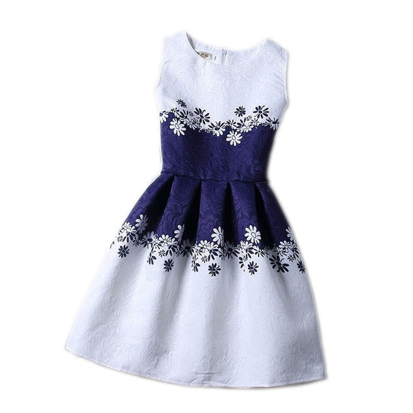 BEAUTIFUL BUTTERFLY & FLORAL NAVY SUMMER DRESSES