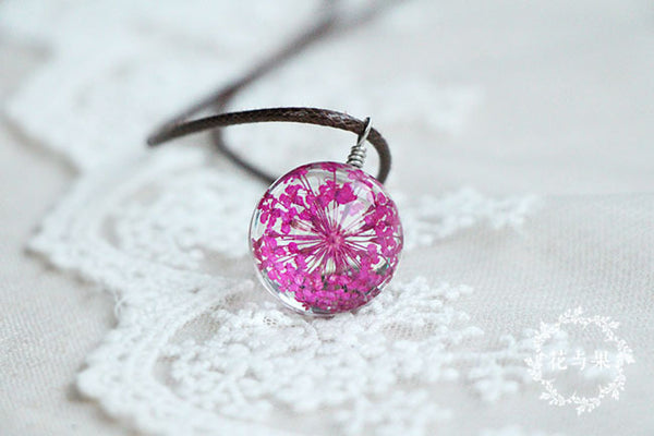 CRYSTAL GLASS BALL FASHION JEWELLERY