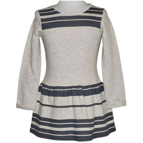 BABY GIRLS' STRIPE COTTON DRESS