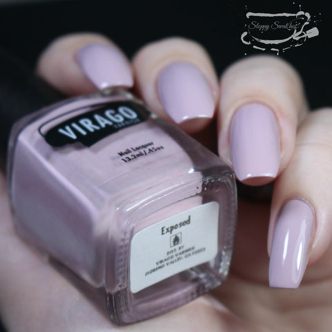 Exposed by Virago Varnish, nude nail polish
