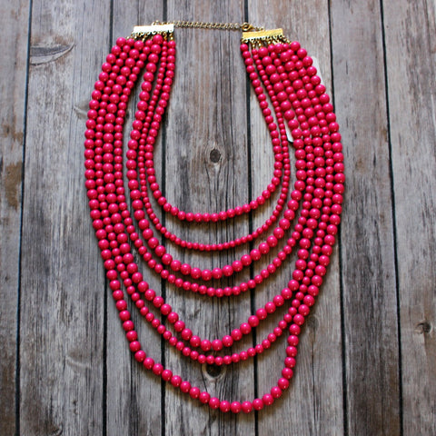 7-Layer Laurel Necklace