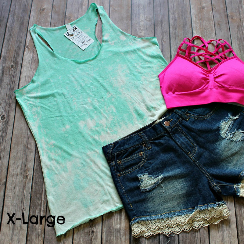 women's-extra-large-dip-dyed-tank-top-mint-colored-2820-boutique-menoken-nd