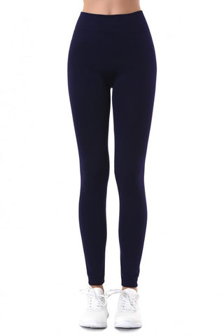 Curvy Fleece Lined Leggings