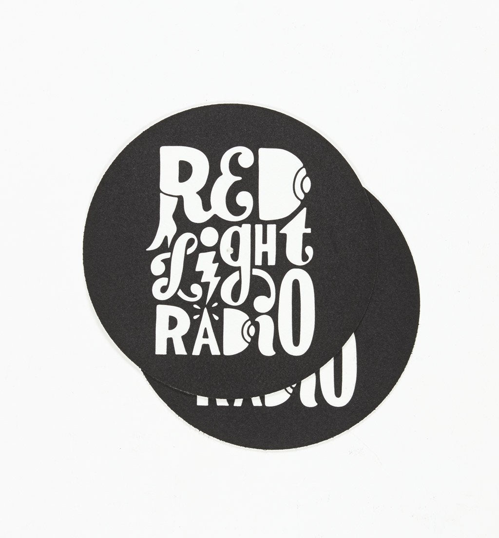 Parra - set of two Red Light Radio slipmats