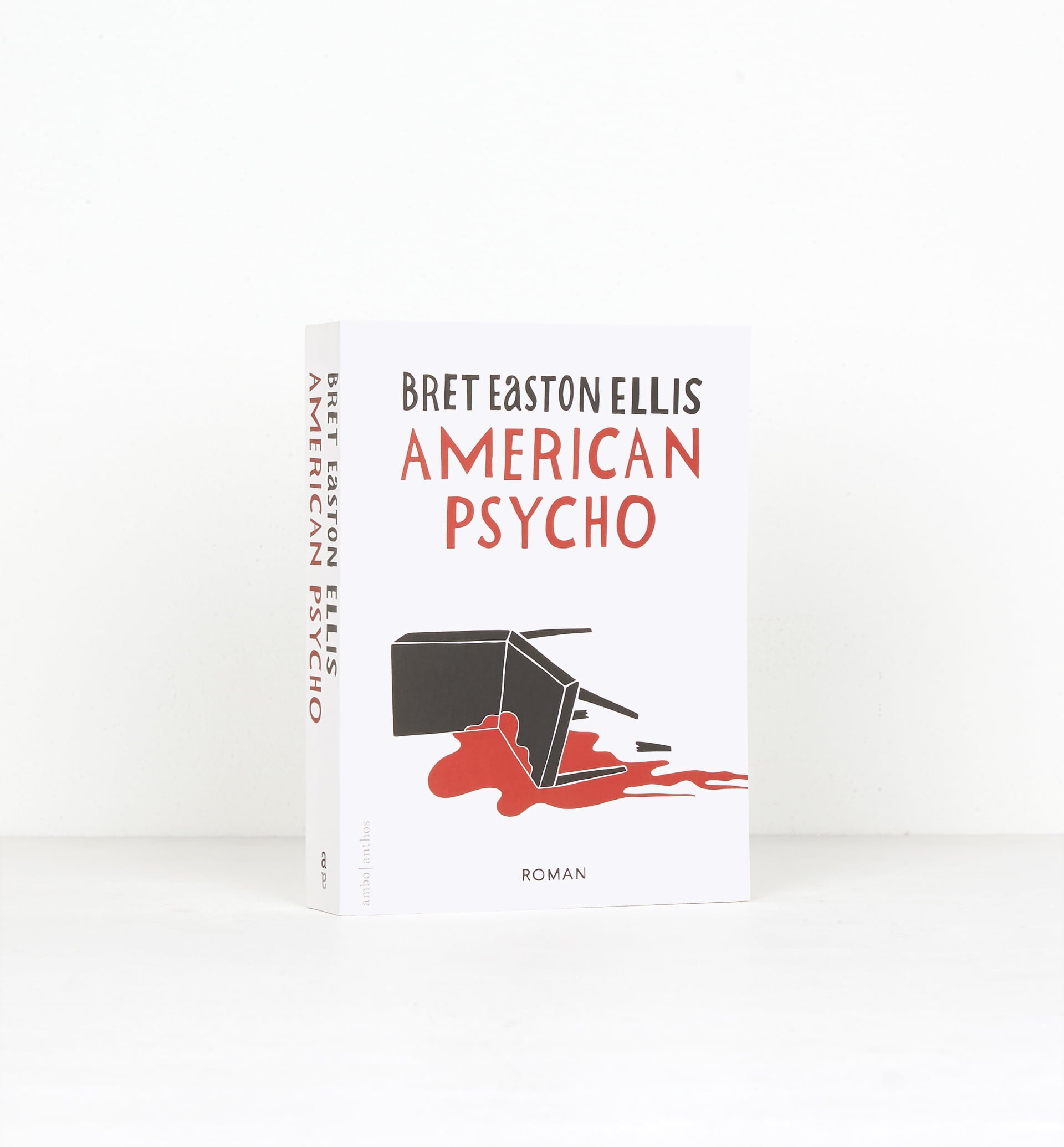 Parra - American psycho book by Bret Easton Ellis. cover by Parra(dutch translation)