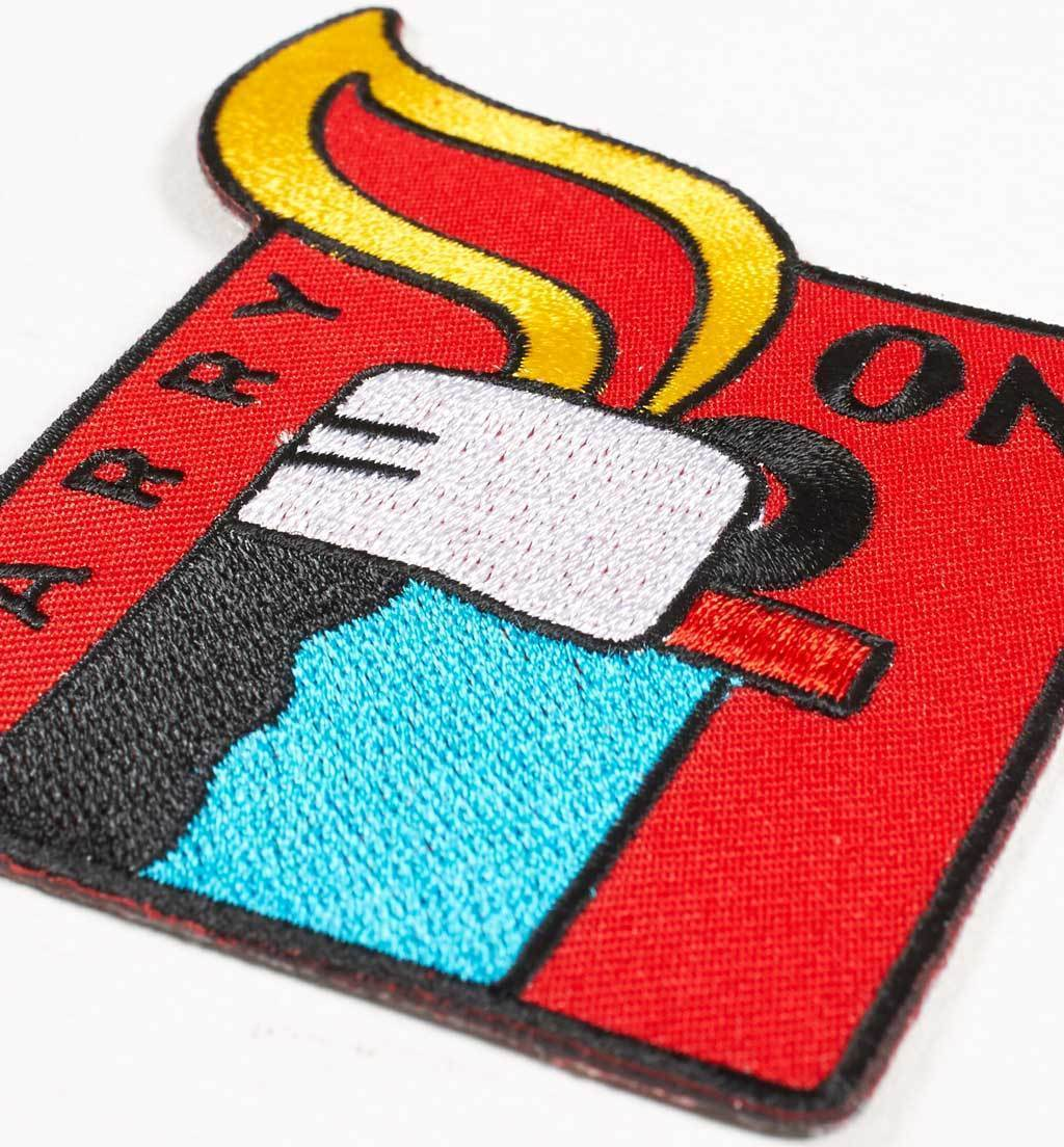 Parra - carry on embroidered patch carry on
