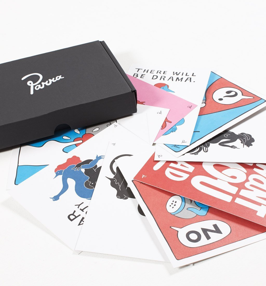 Parra - throw back cards box set
