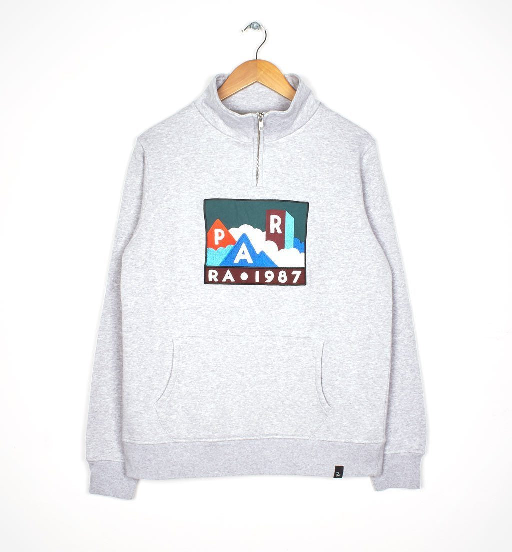 Parra - mountains of 1987 quarter zip sweatshirt