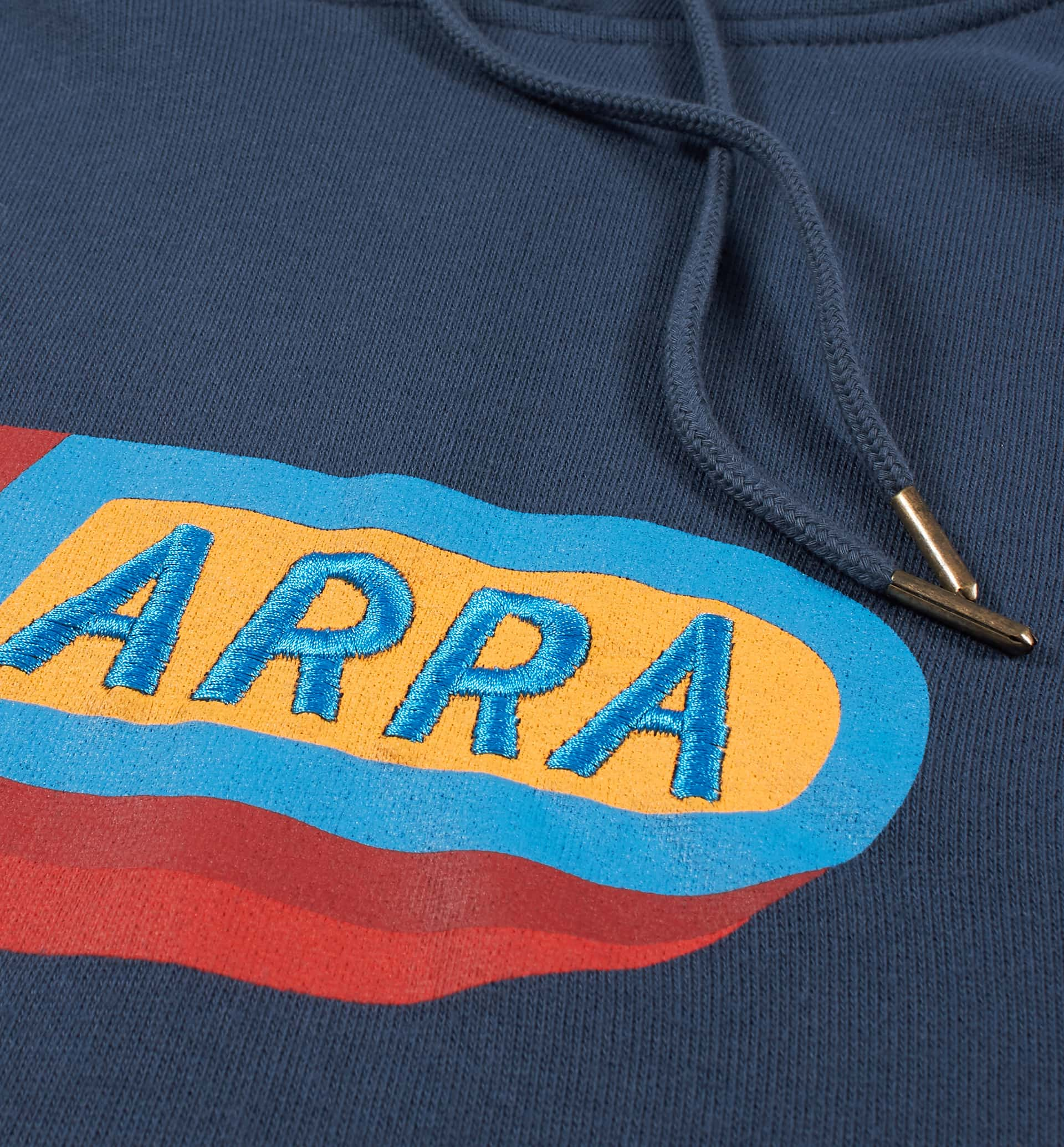 Parra - garage oil hooded sweatshirt