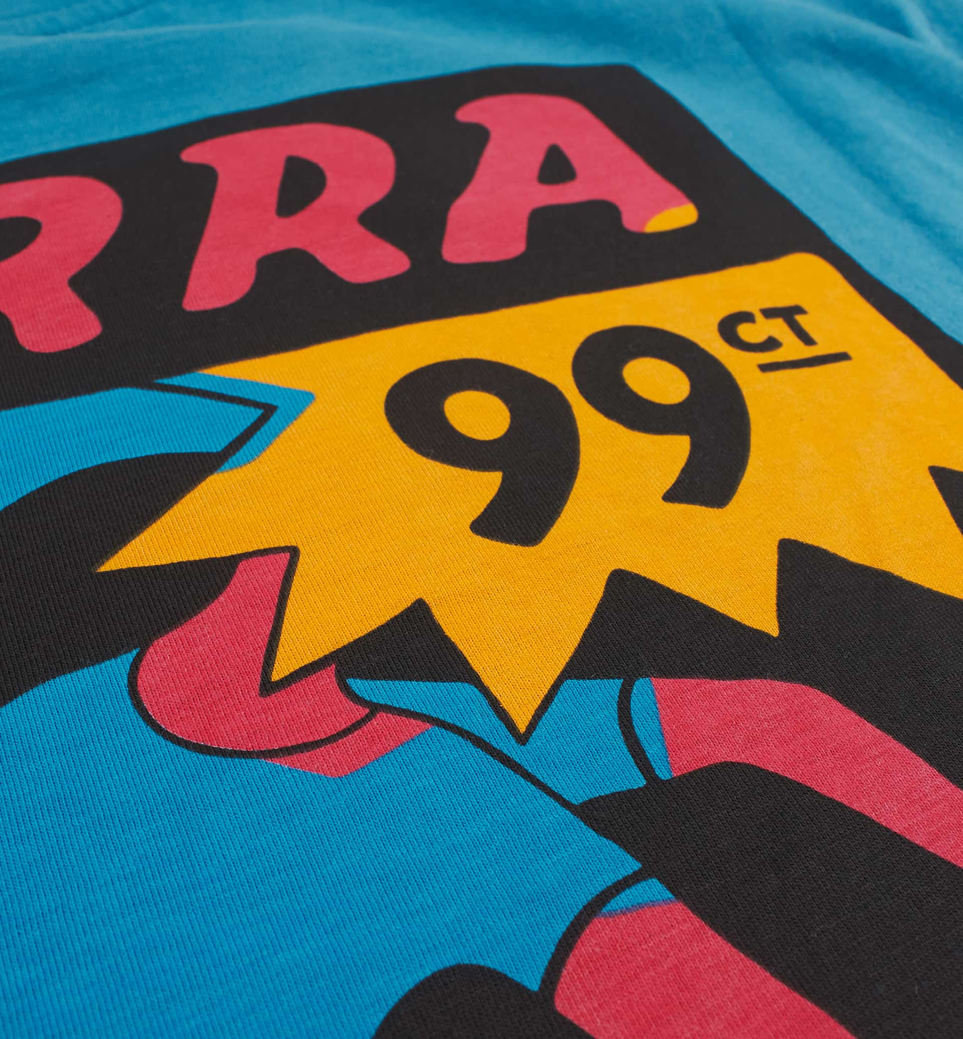 Parra - indy tuck knee t-shirt