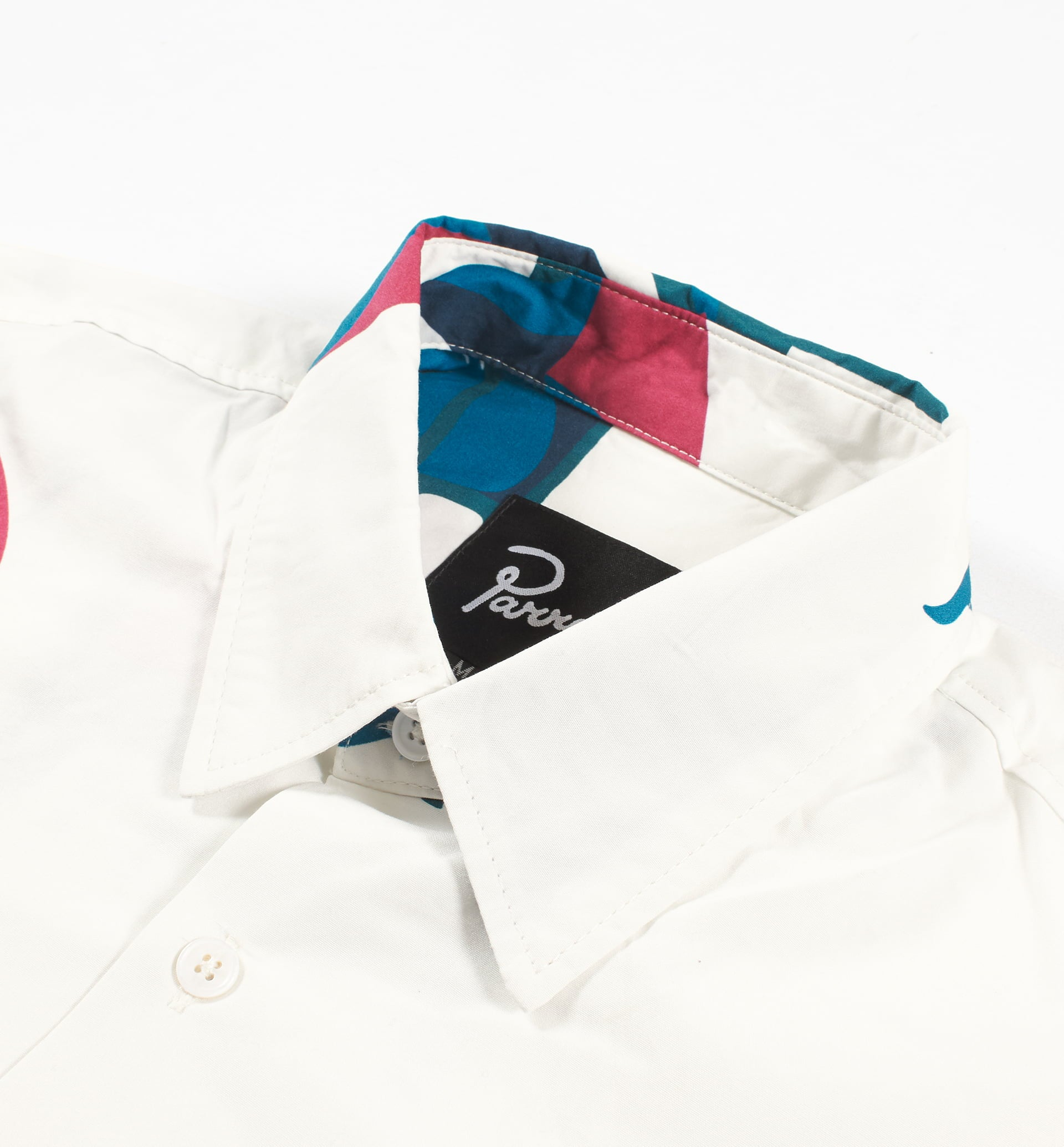 Parra - monaco camp collar shirt