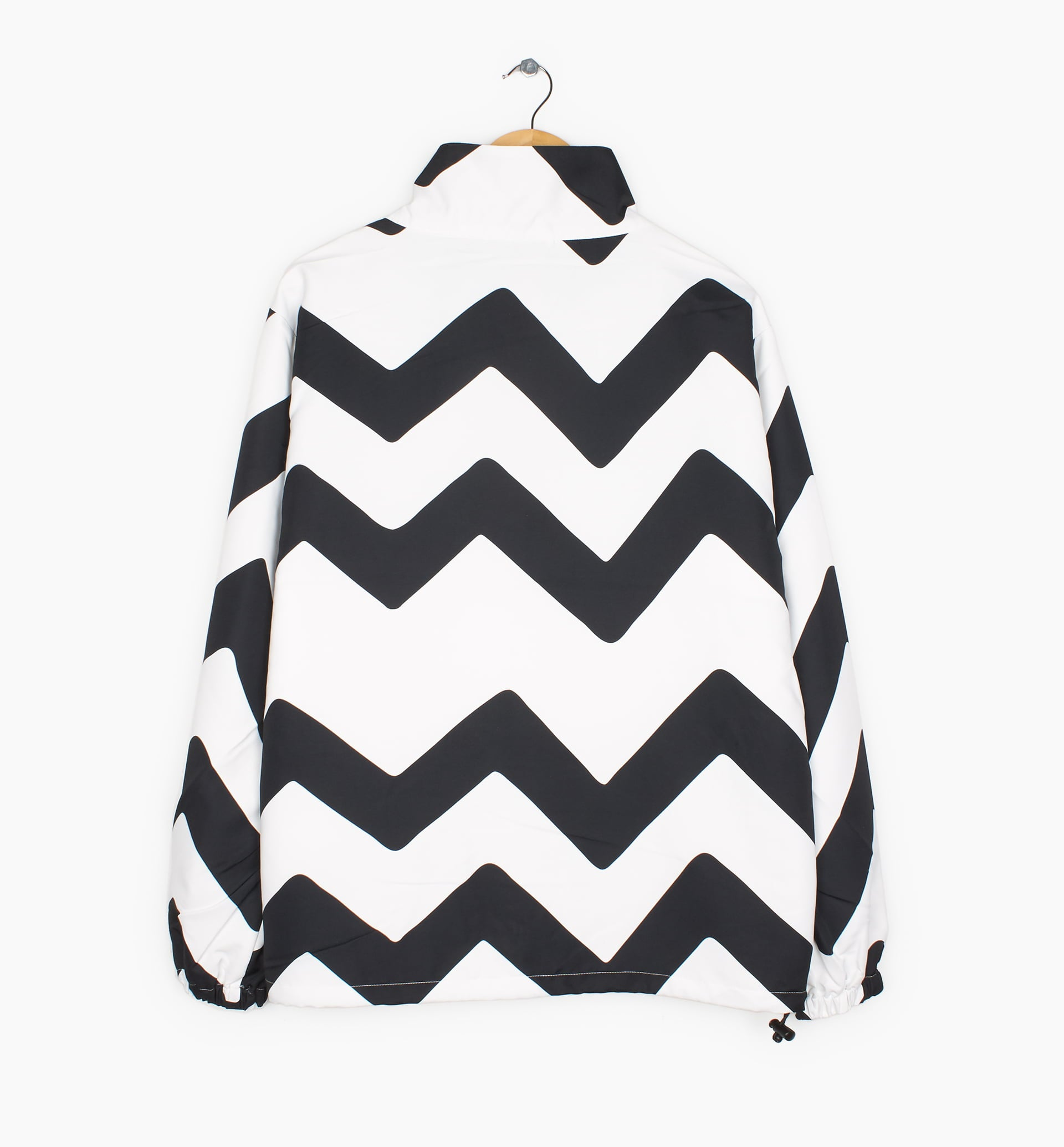 Parra - vase mountain stripes windbreaker