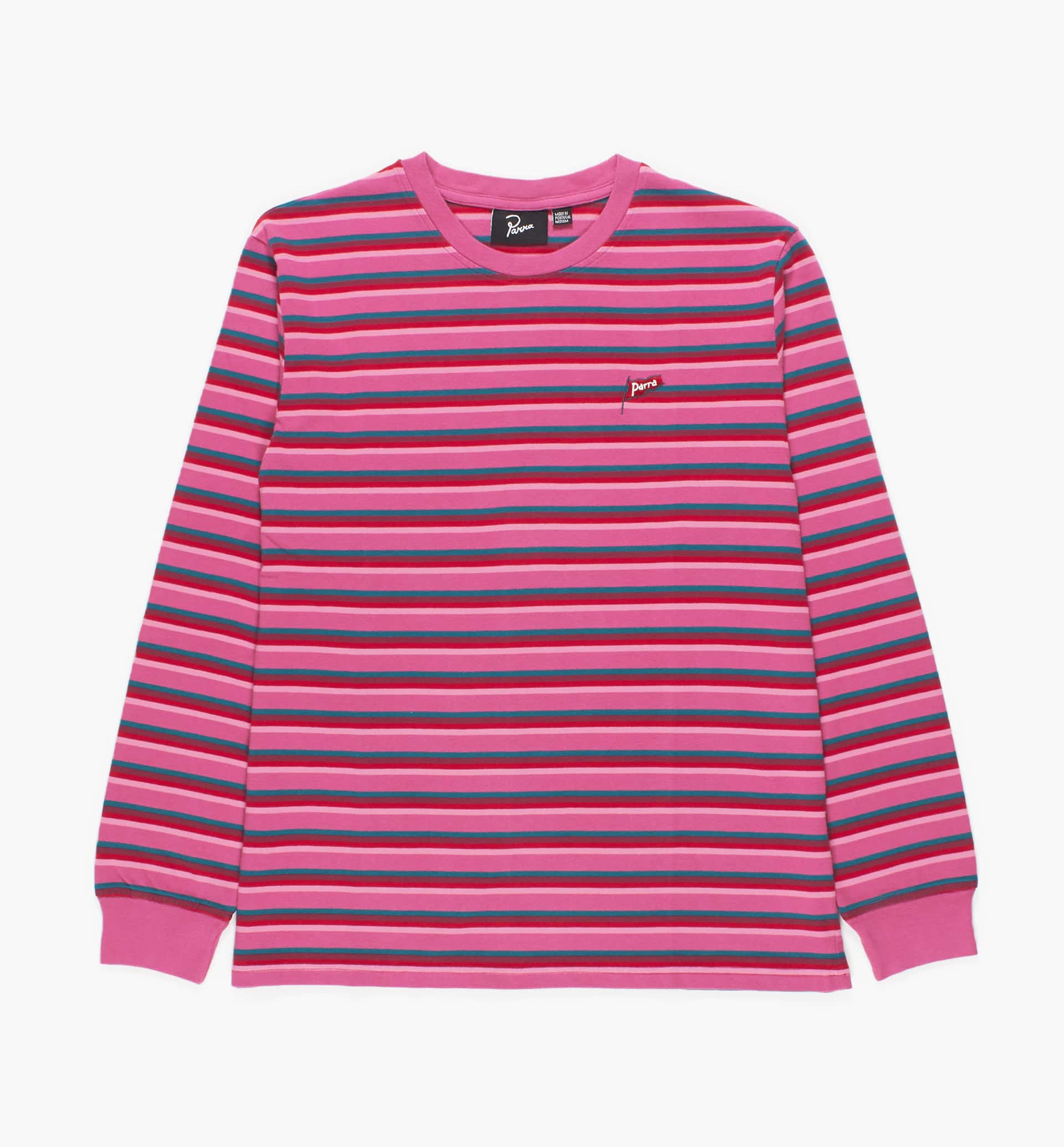 Parra - flapping flag striped long sleeve