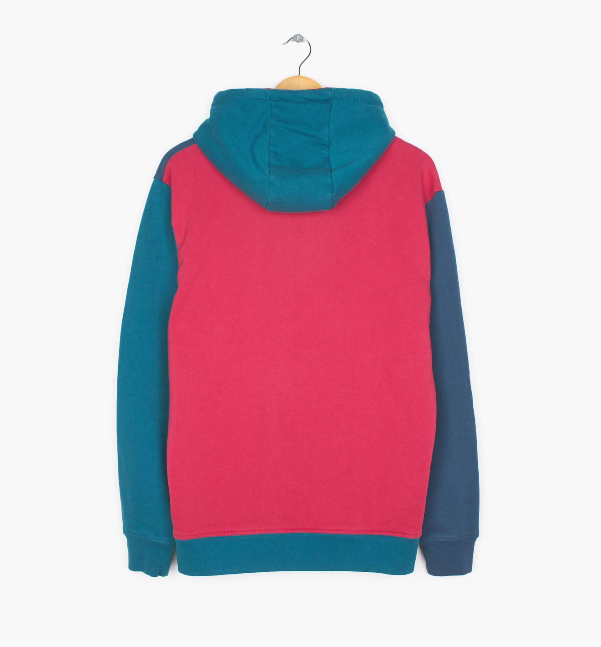 Parra - colorblocked hooded sweatshirt