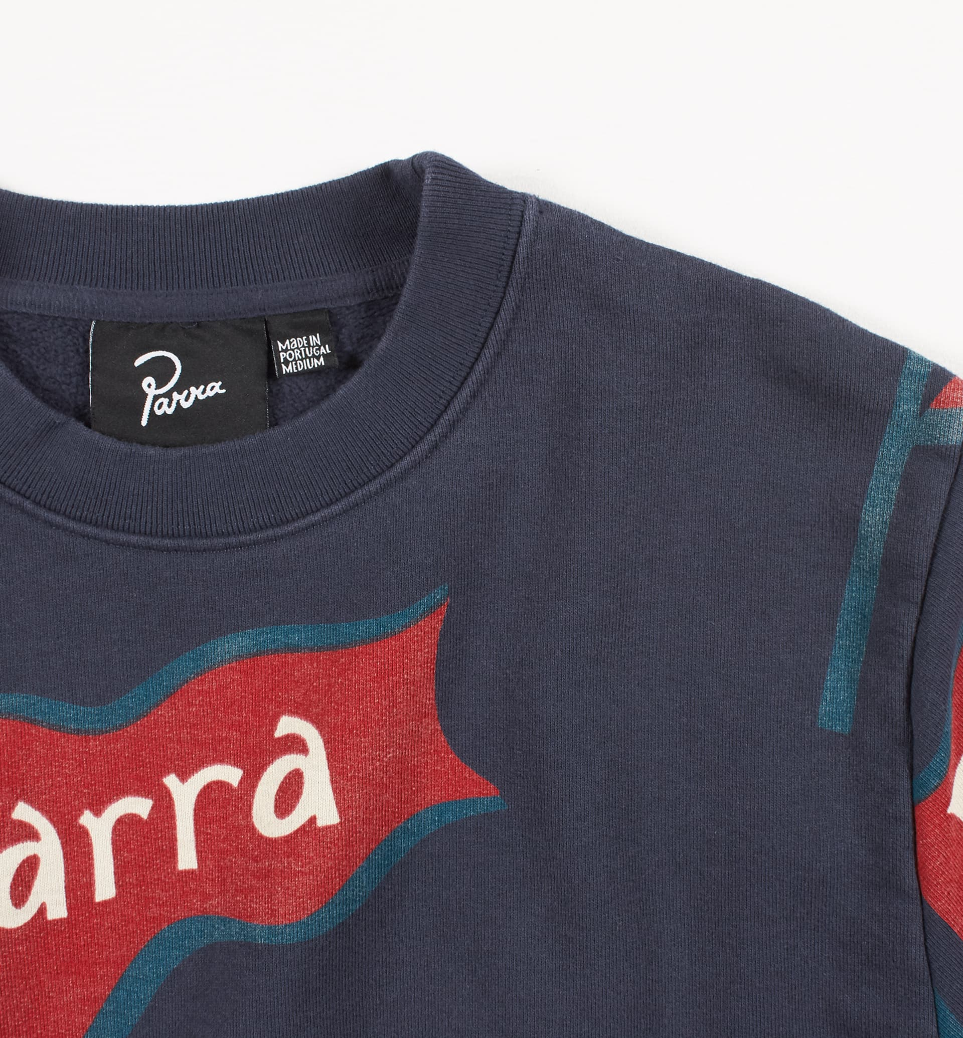 Parra - flapping flag crew neck sweatshirt