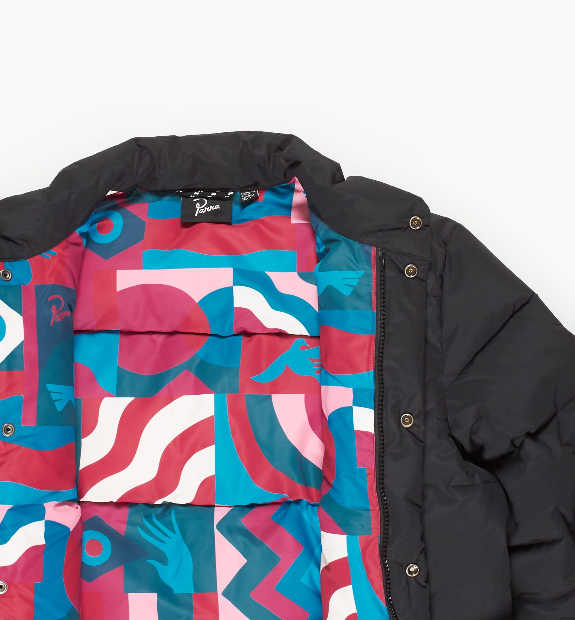 Parra - grab the flag puffer jacket