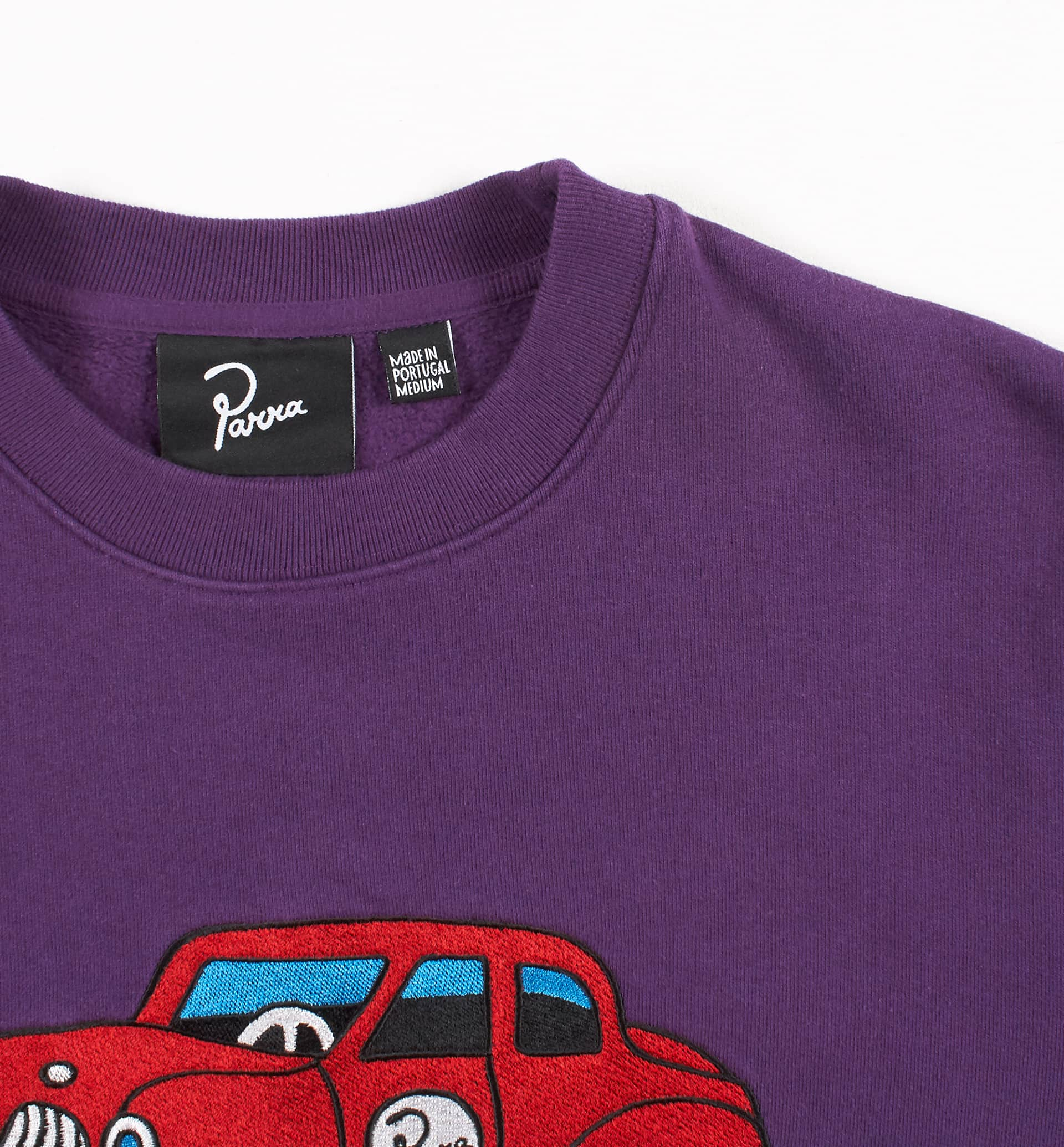 Parra - toy car crewneck sweatshirt