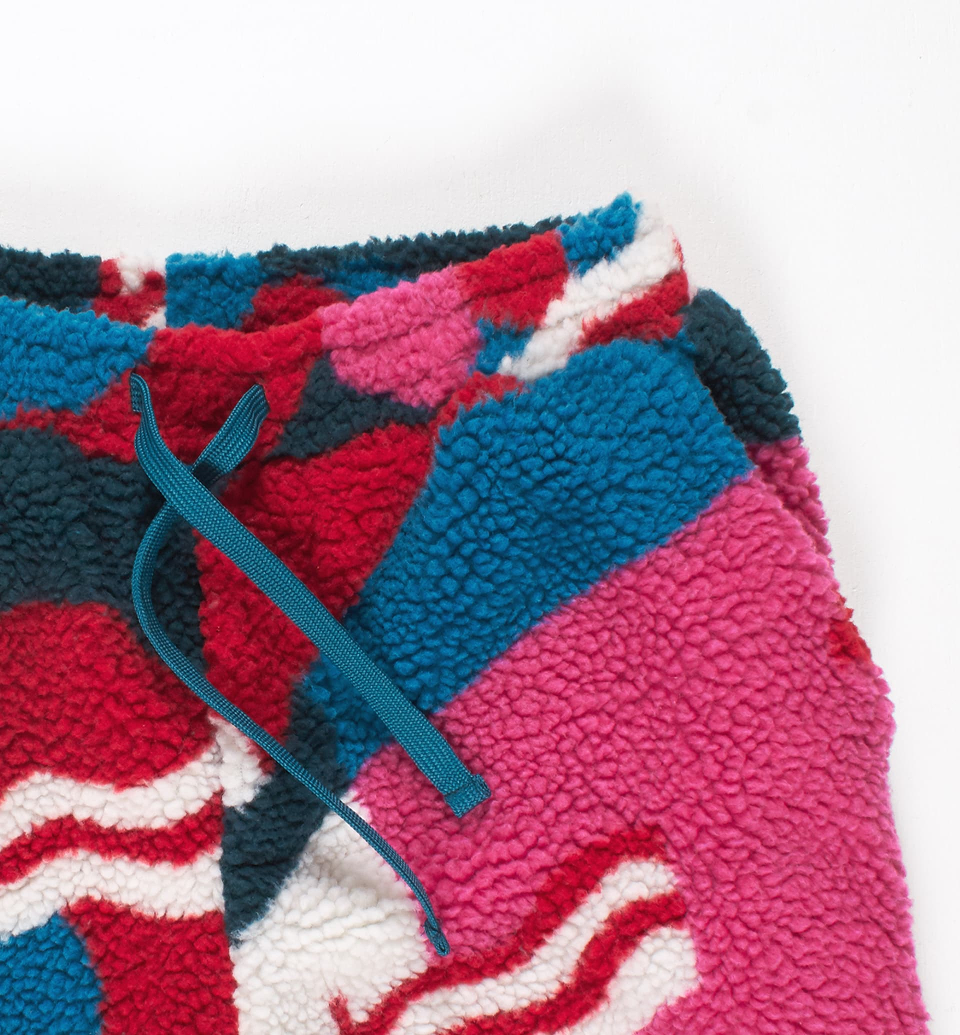 Parra - flag mountain racer sherpa fleece pants