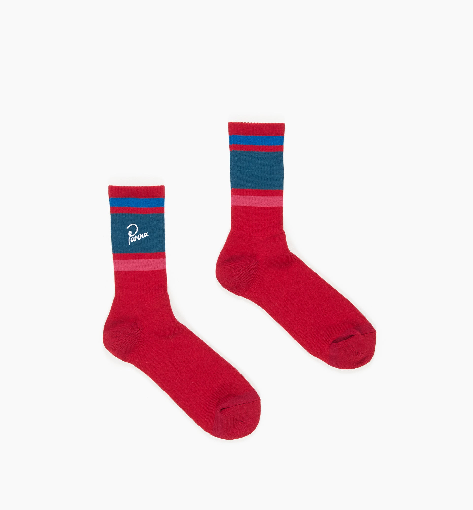 Parra - striped crew socks
