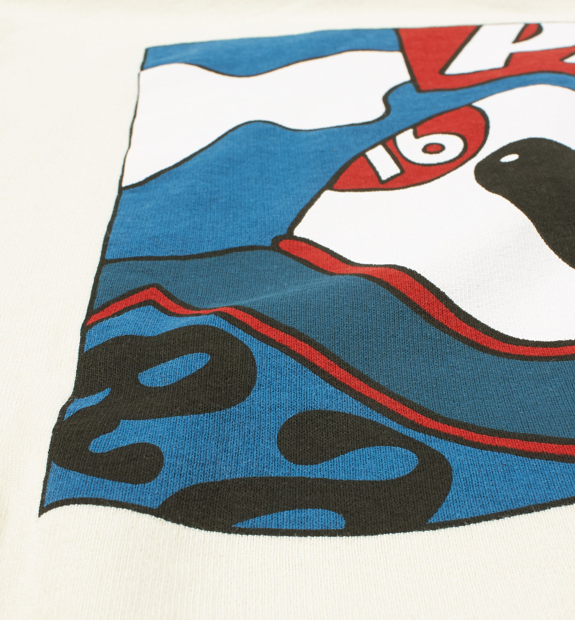 Parra - motorcycle guy hooded sweatshirt