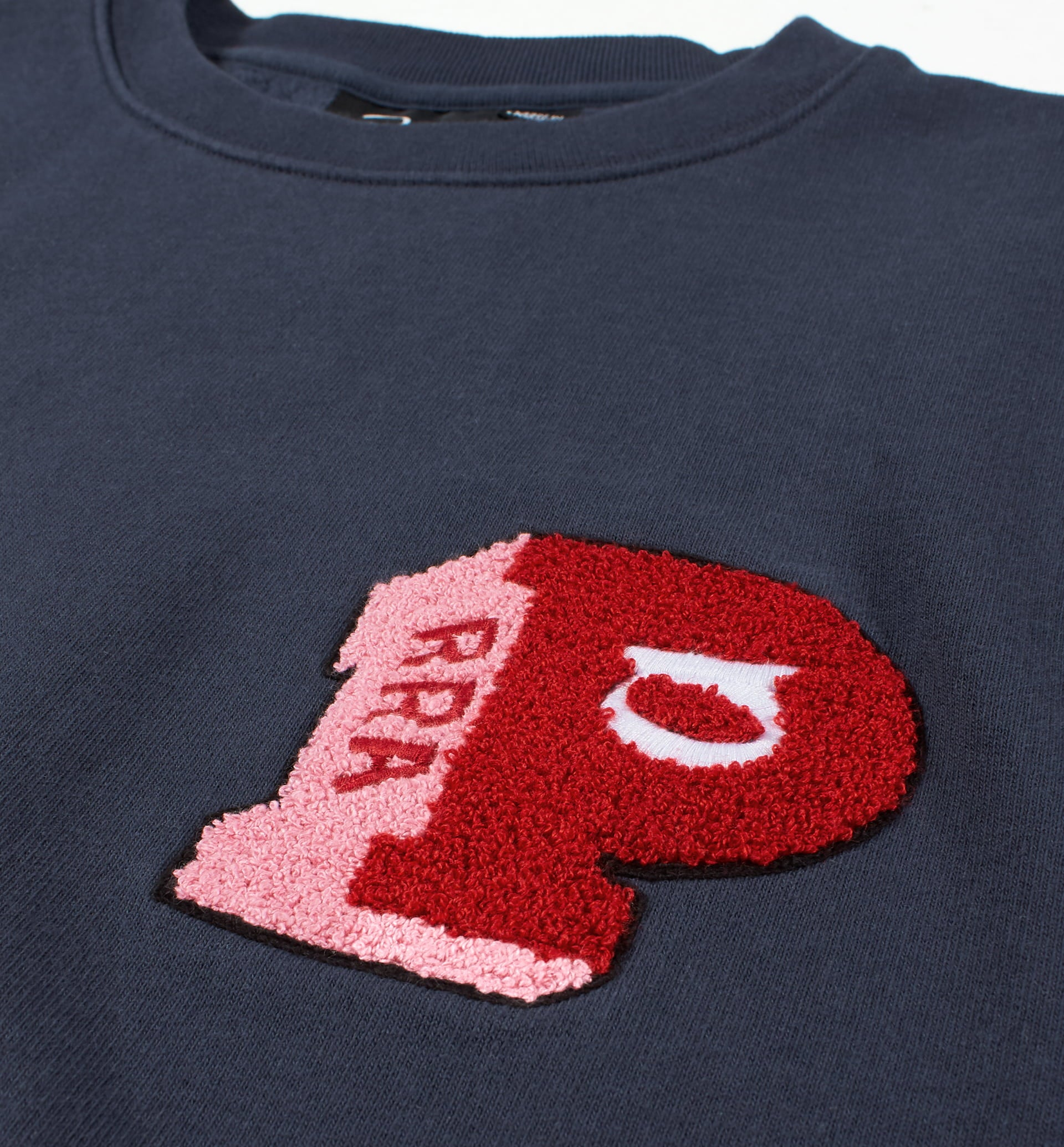 Parra - block P crew neck sweatshirt