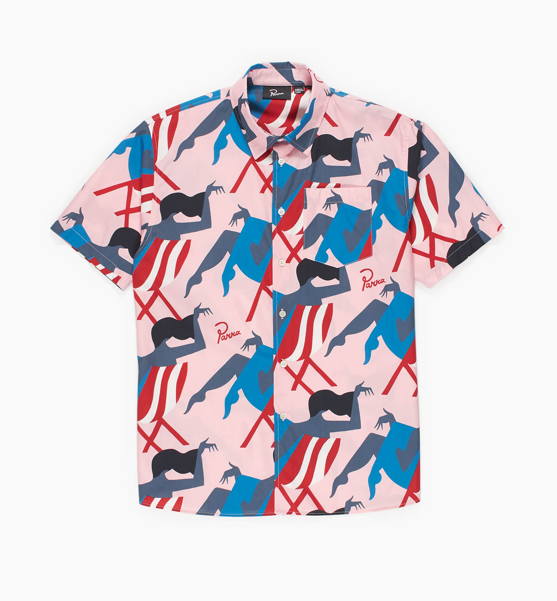 Parra - madame beach shirt