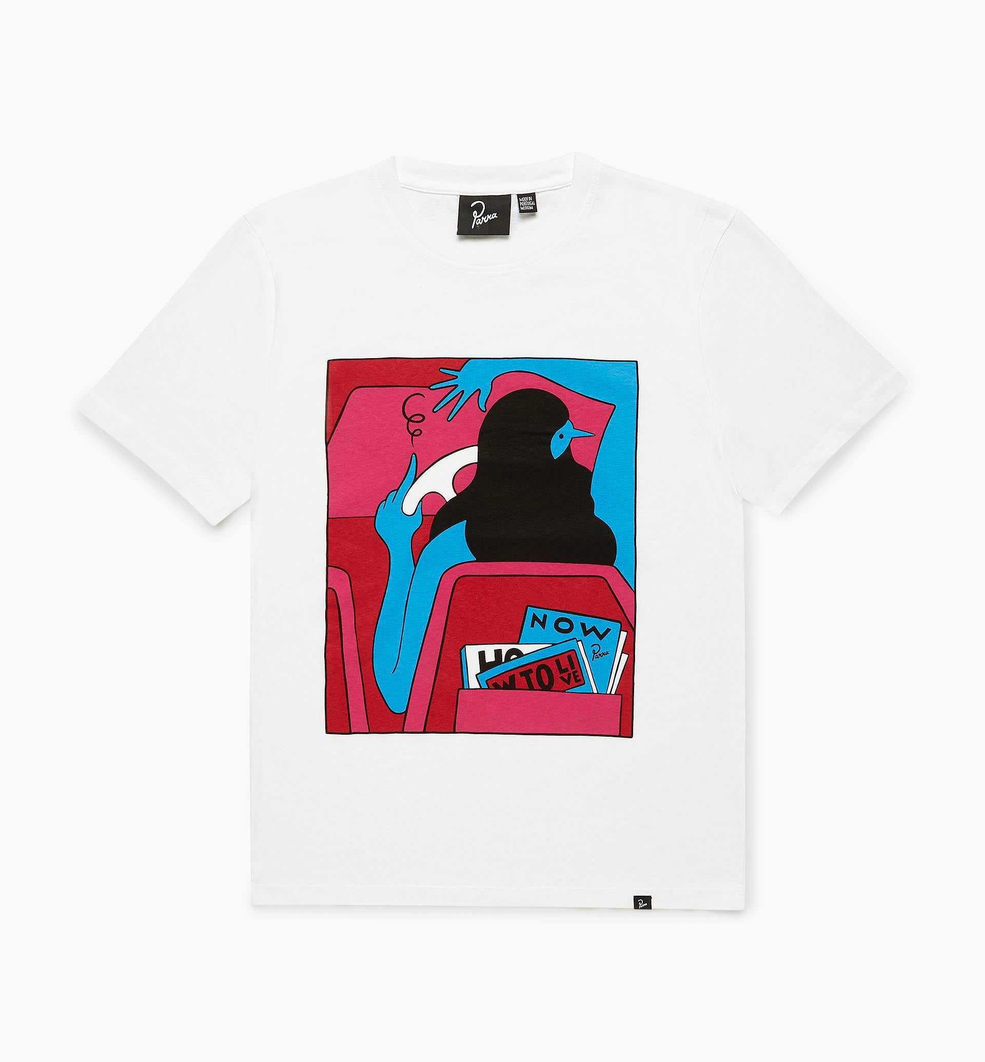 Parra - how to live now t-shirt