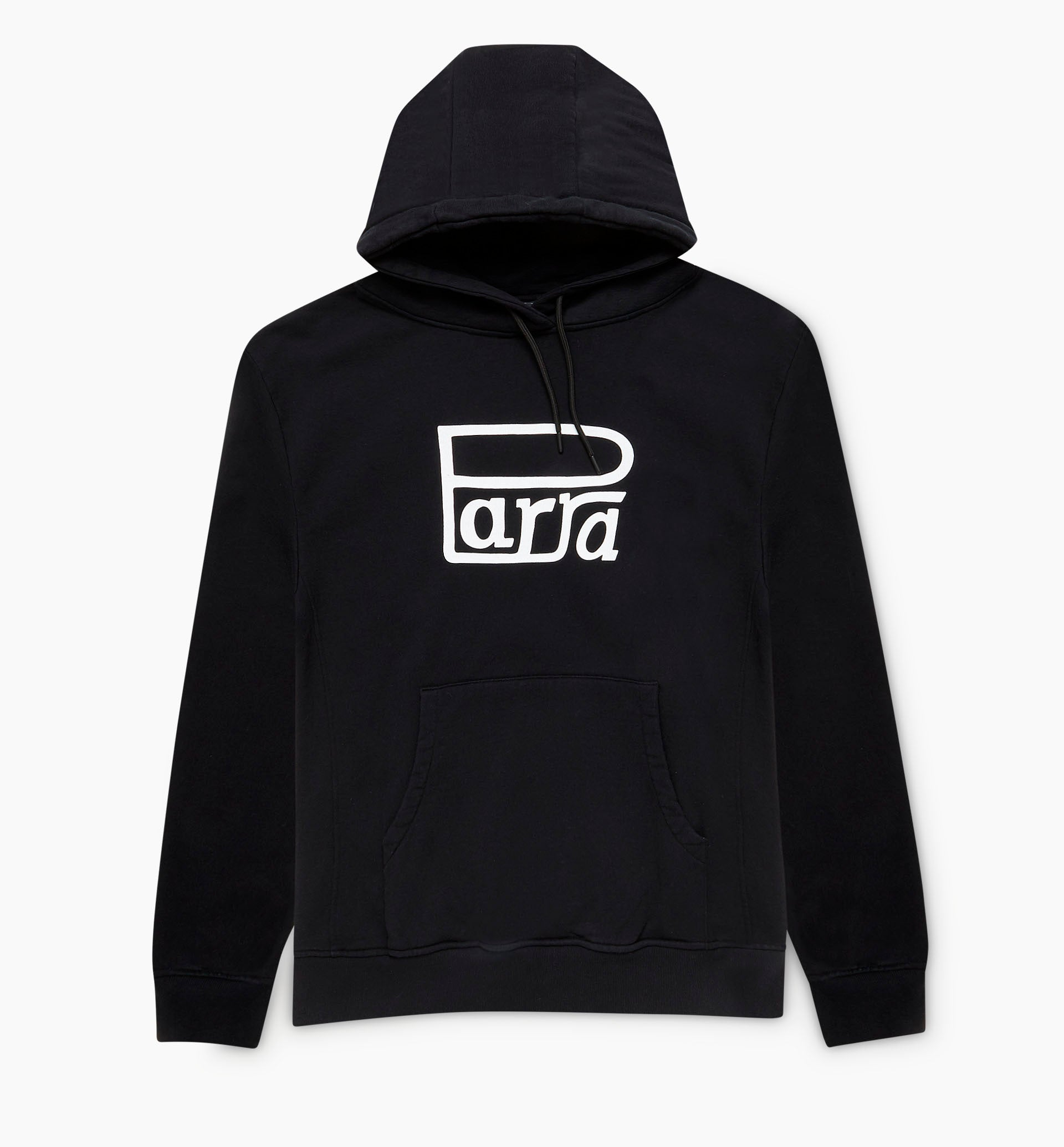 Parra - race logo hooded sweatshirt