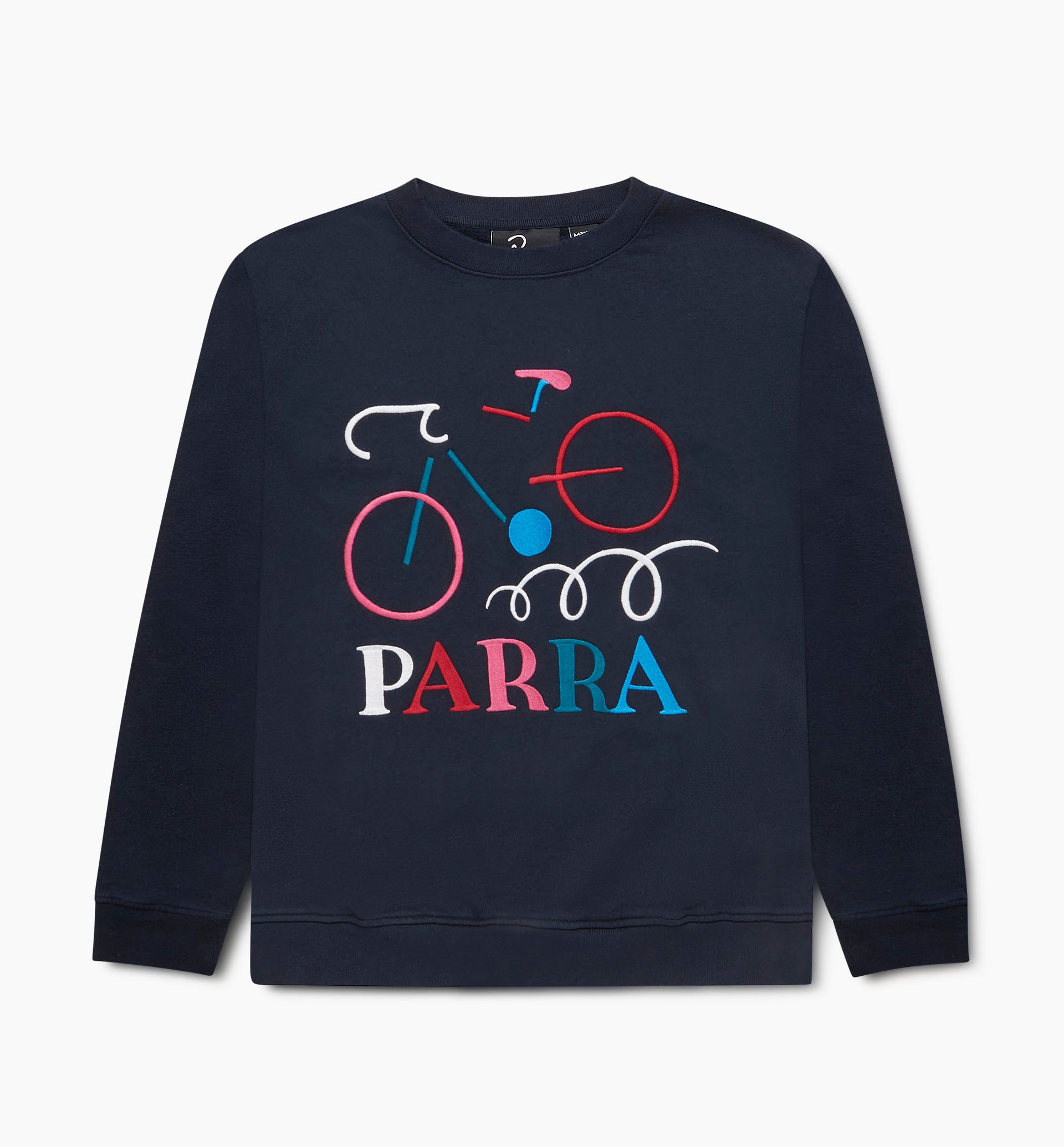 Parra - broken bike crew neck sweatshirt