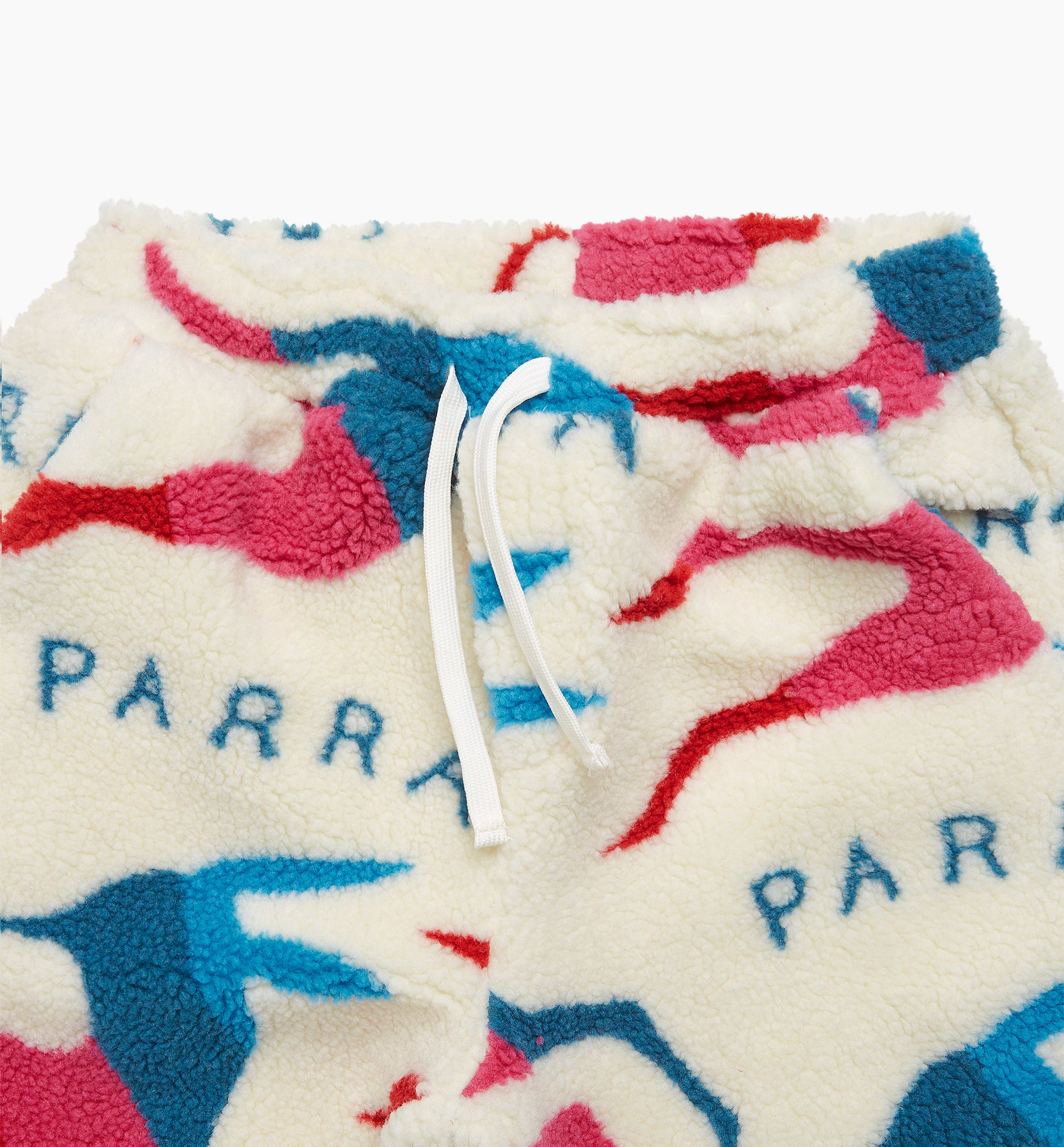 Parra - jumping foxes sherpa fleece pants