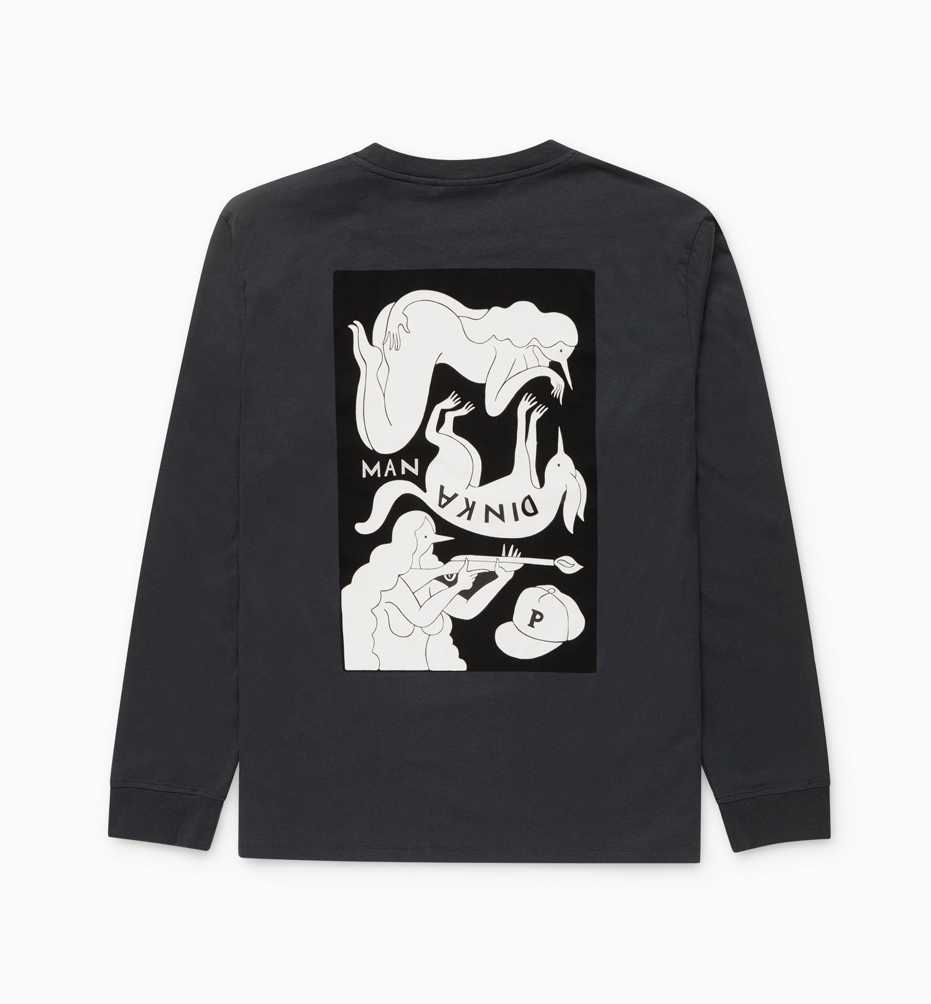 Parra - mandinka long sleeve t-shirt