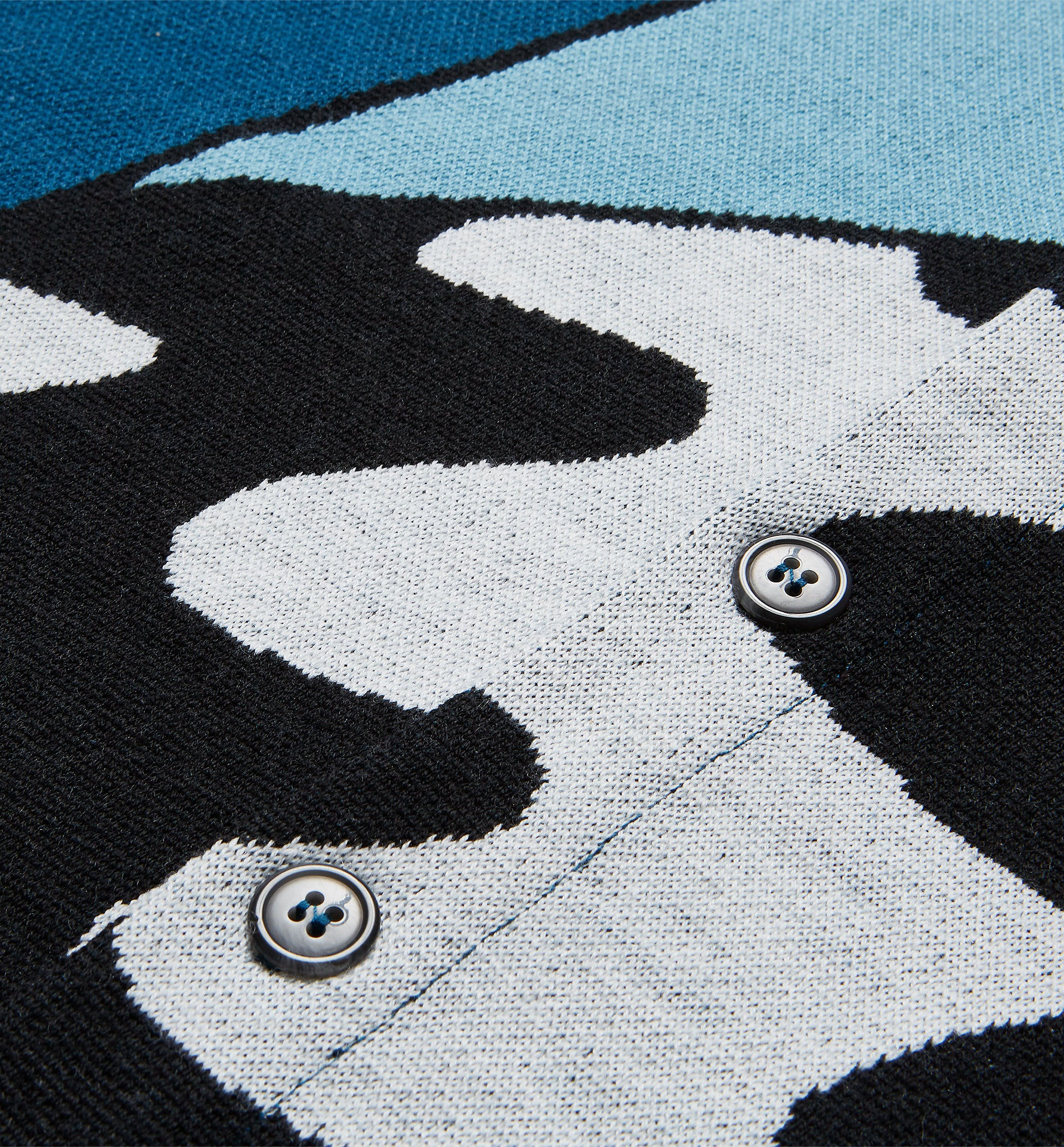 Parra - too loud knitted cardigan