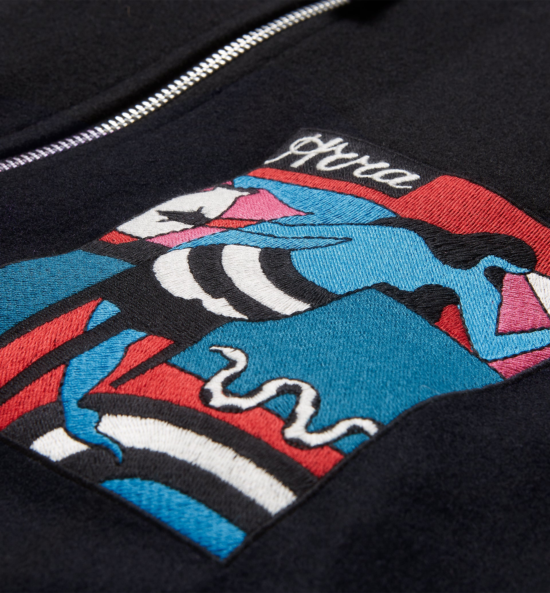 Parra - bar messy wool jacket