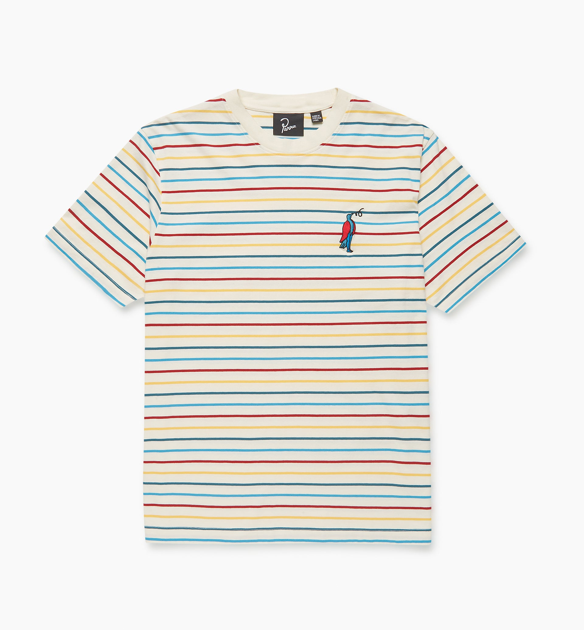 Parra - staring striped t-shirt