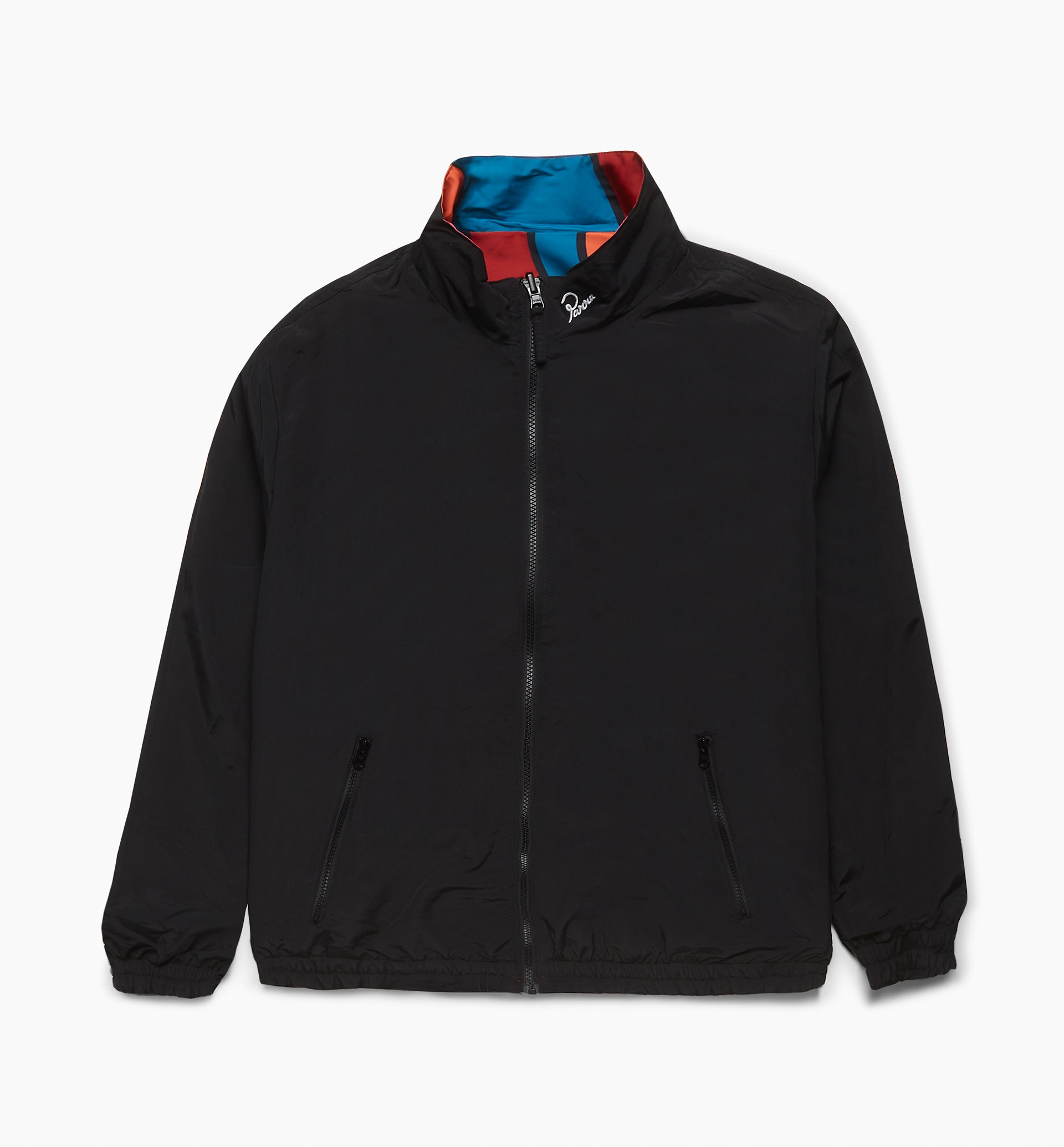 Parra - serpent pattern track top