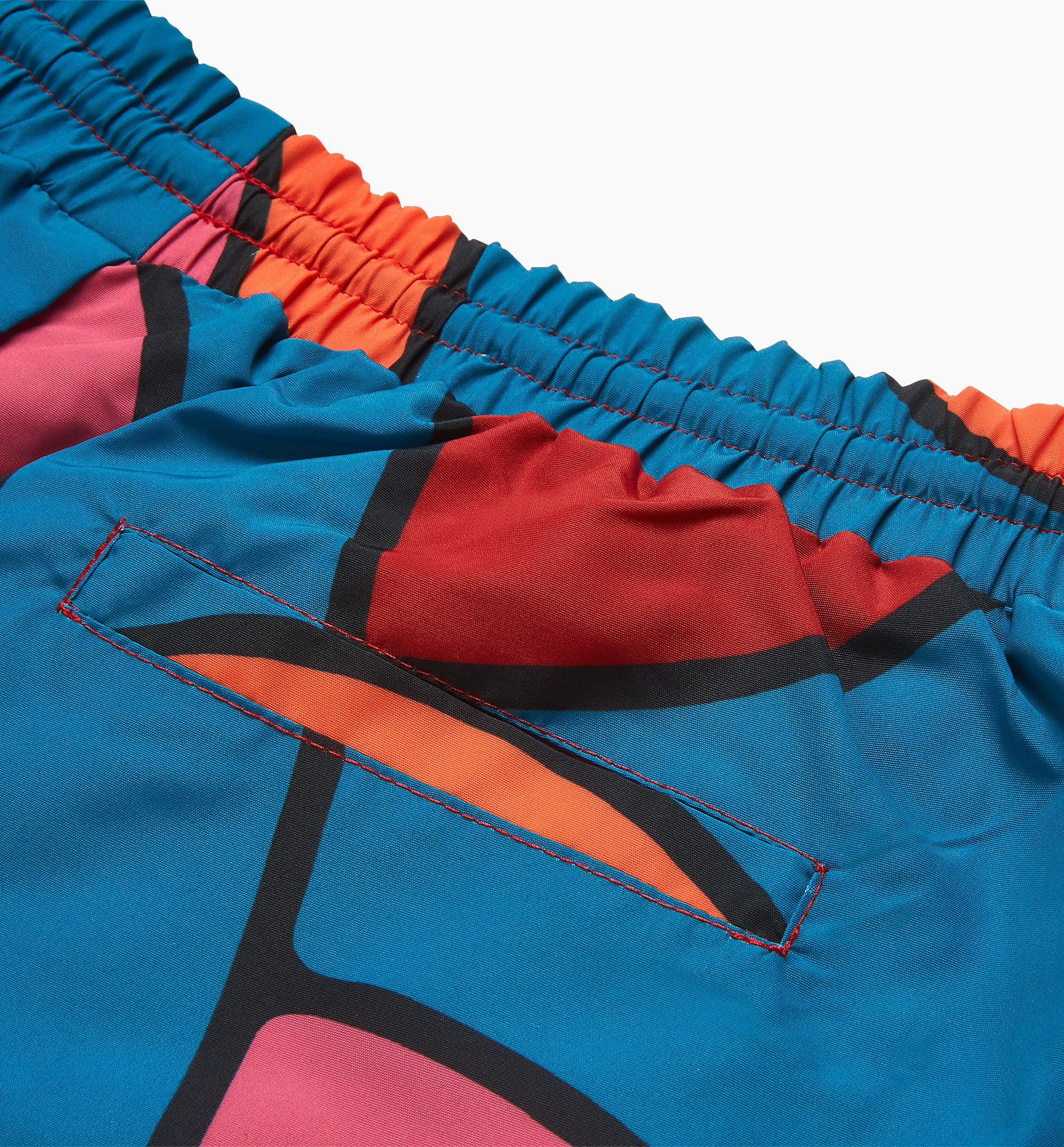 Parra - serpent pattern track pants