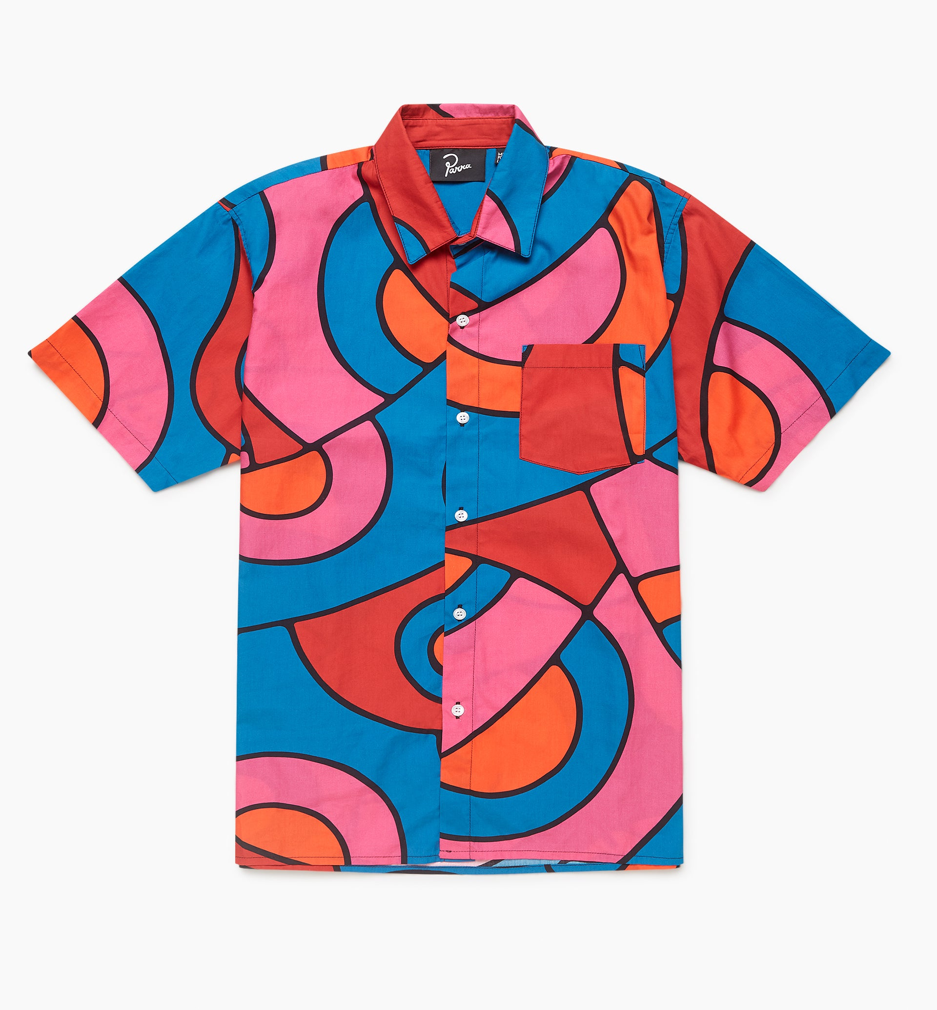Parra - serpent pattern shirt