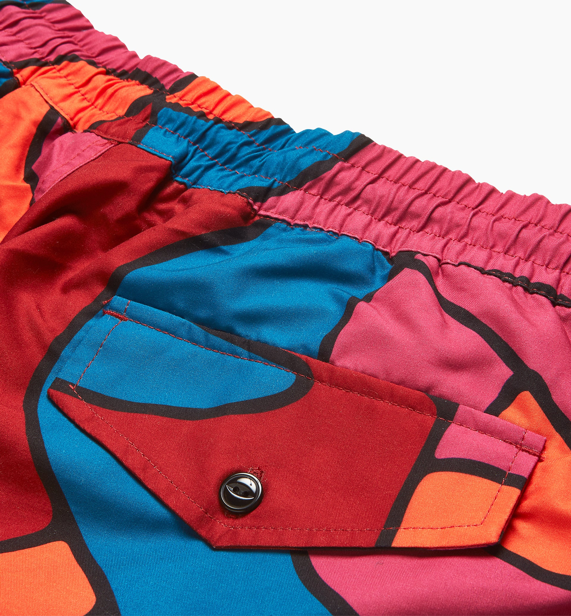 Parra - serpent pattern swimshorts