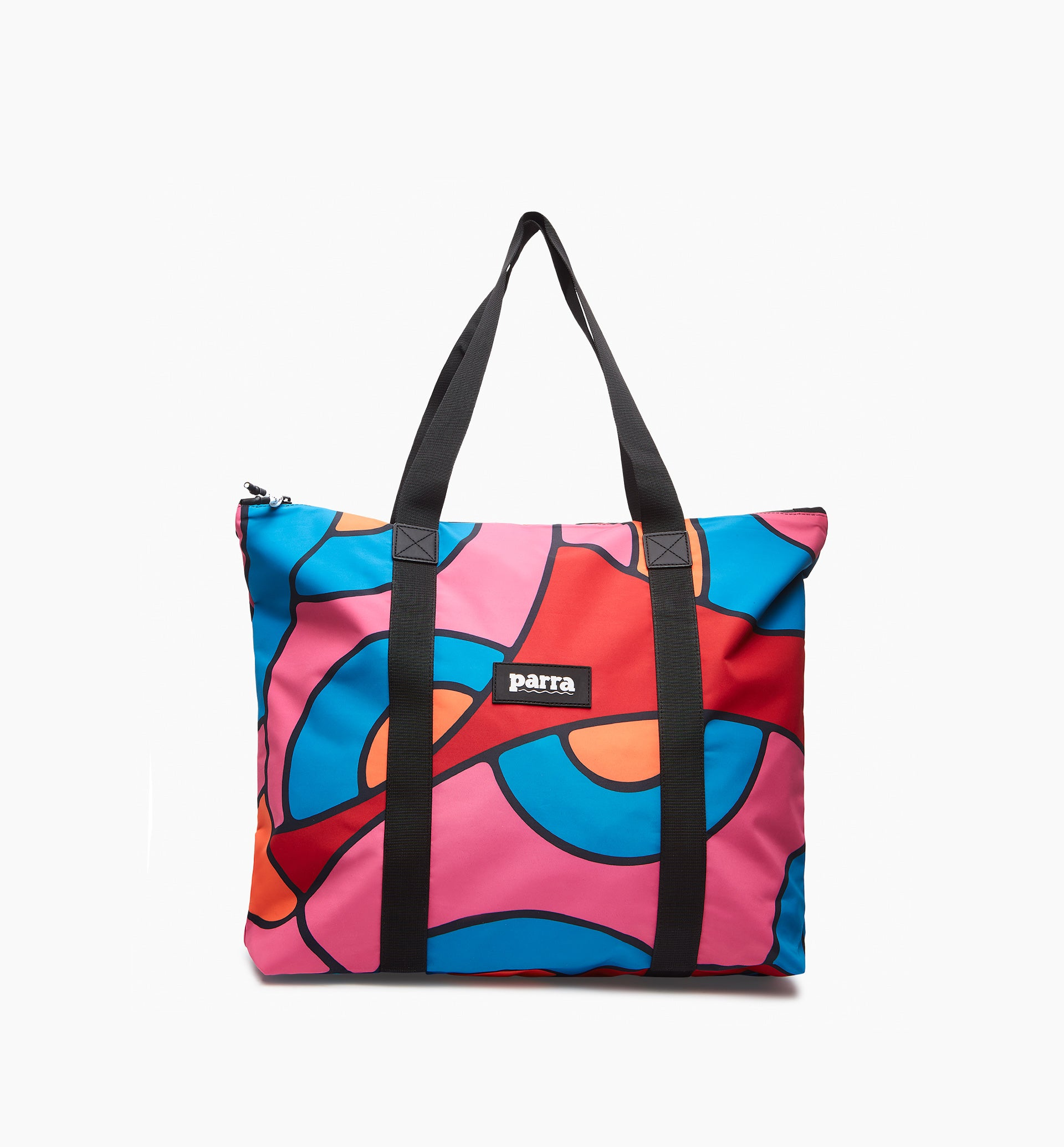 Parra - serpent pattern tote bag